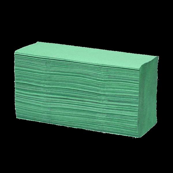 Falthandtuchpapier, Grün